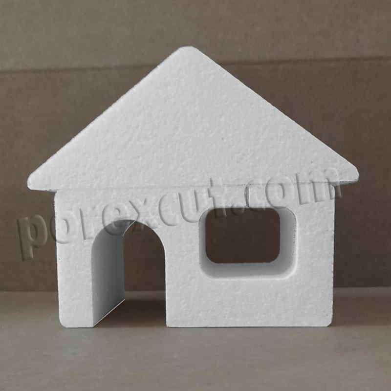Casa porexpan poliespan corcho corcho blanco