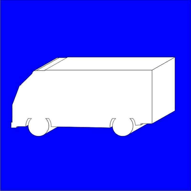 Camion Scania porexpan poliespan corcho corcho blanco
