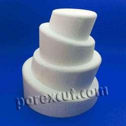 Tupsy topsy 4 piezas de porexpan poliespan corcho blanco porex