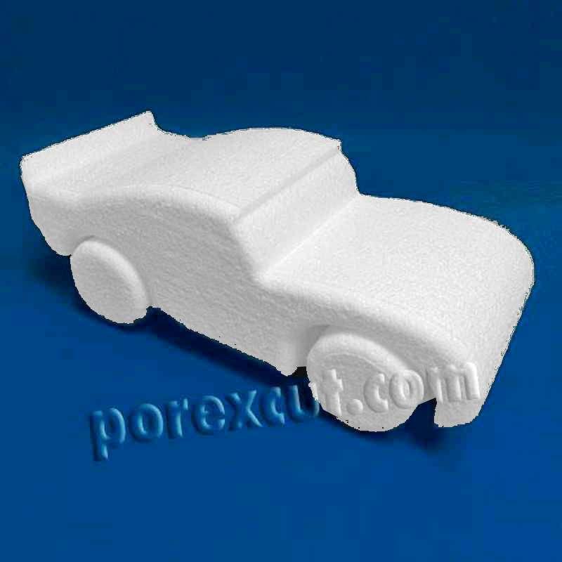 Car porexpan poliespan poliestireno expandido corcho blanco