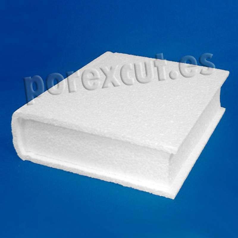 libro porexpan poliespan corcho blanco poliestireno expandido