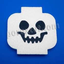 cabeza lego de porexpan poliespan corcho blanco poliestireno expandido halloween
