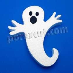 fantasma de porexpan poliespan corcho blanco poliestireno expandido halloween