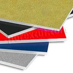 placas de porexpan purpurina glitter poliespan corcho blanco poliestireno expandido