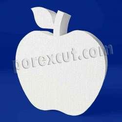 Manzana de porexpan poliespan corcho blanco