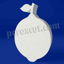 Limón de porexpan poliespan corcho blanco