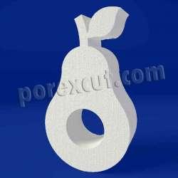 Aguacate de porexpan poliespan corcho blanco