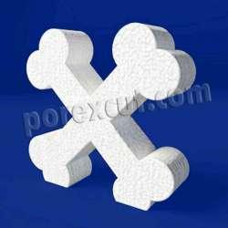 huesos de porexpan poliespan corcho blanco
