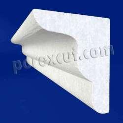 Moldura de porexpan poliespan corcho blanco poliestireno expandido