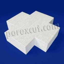 Cruz de porexpan poliespan corcho blanco poliestireno expandido