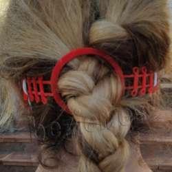 salvaorejas con hueco para la cola pelo