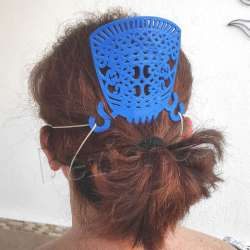 peineta con salvaorejas para mascarillas alivia salva orejas