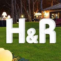 horatio Letras de corcho grandes para bodas, iniciales para eventos, celebraciones