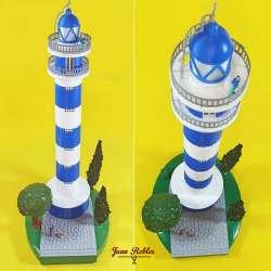 Faro de Torre del Mar impresión 3D