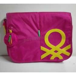 Bolso Bandolera Benetton rosa