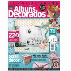 Scrapbooking decorado