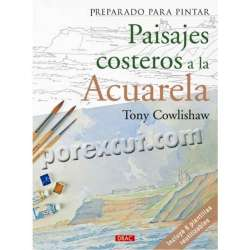 Paisajes costeros Acuarela