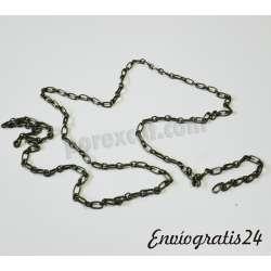 1m. de cadena bronce antiguo
