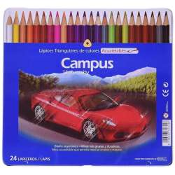 24 Lapices de colores Campus