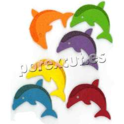 Fieltro decorativo Delfin