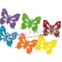 Fieltro decorativo Mariposa
