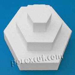 hexagonos-de-porexpan poliespan corcho blanco